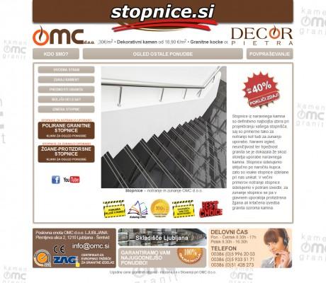stopnice OMC
