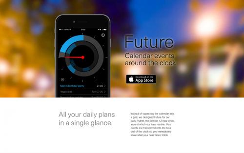 future calendar app