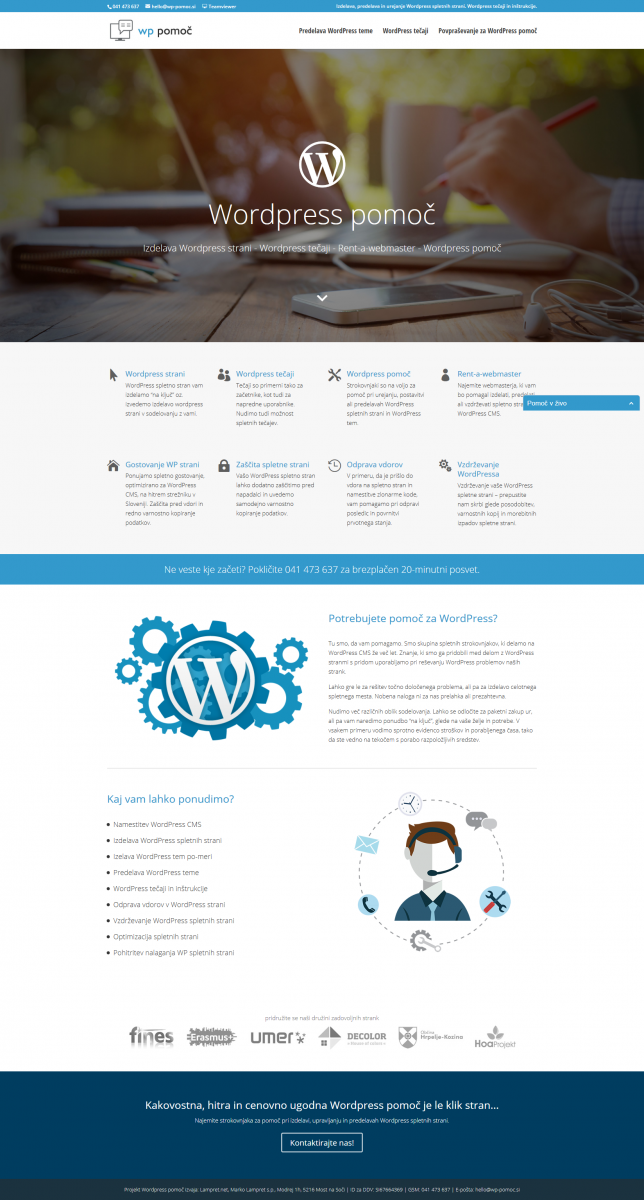 wordpress-strani