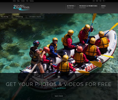 Bovec rafting team Wordpress site